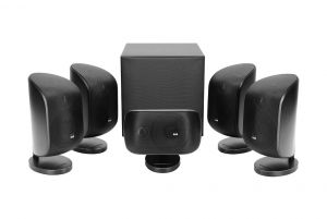 Bowers & Wilkins MT-50 5.1 Mini Home Theatre Speaker Package | 8-Inch Subwoofer