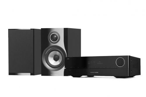 Harman Kardon HK-3770 with Bower & Wilkins 707 S2 Stereo Hi-Fi System