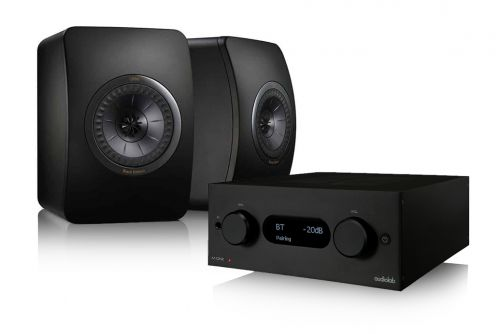 Audiolab M-One Amplifier & KEF LS50 Monitor Speakers Hi-Fi Stereo System | Limited Edition Speakers