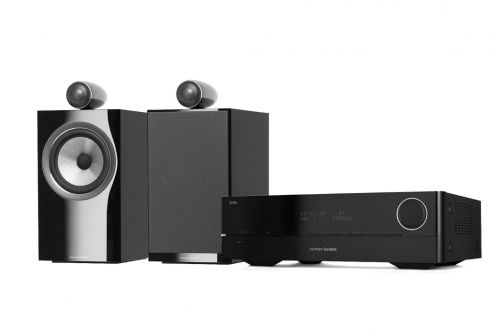 Harman Kardon HK 3700 Receiver and Bowers & Wilkins 705 S2 Speakers Hi-Fi Stereo System