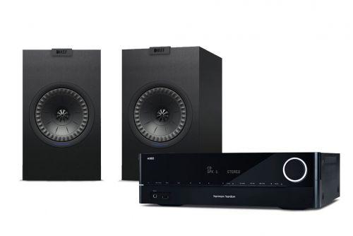 Harman Kardon HK 3700 Receiver & KEF Q150 Speakers Hi-Fi Stereo System