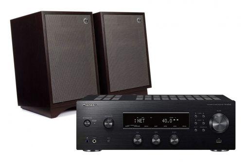 Pioneer SX-N30AE Receiver & Klipsch Capitol Heresy III Speakers Hi-Fi Stereo System