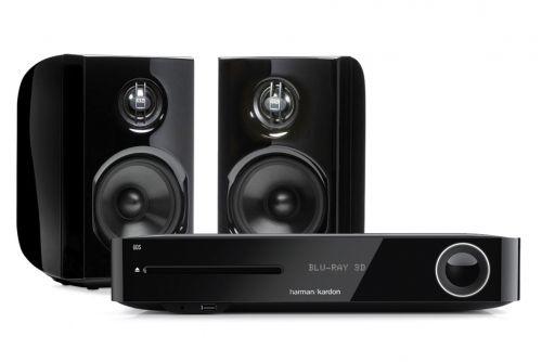 Harman Kardon BDS 280 Receiver & NAD D 8020 Monitors Hi-Fi Stereo System | 65 W + 65 W | Blu-ray | AirPlay | Bluetooth