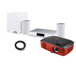 Acer Predator Z650 Gaming Projector and Pioneer FS-W50 2.1 Wireless Home Theatre System with 5 meters HDMI Cable