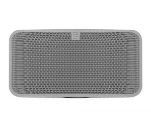 Bluesound Pulse Mini Hi-Res Tri-Amplified Wireless Streaming Speaker-White *Refurbished* | Bluetooth aptX