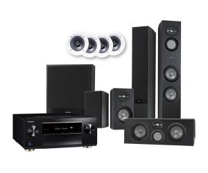 Pioneer SC-LX503 Receiver Infinity by Harman Reference 5.1.4 Atmos Speaker System | R263 | R162 | RC263 | R10 SUB | Klipsch R-1800-C
