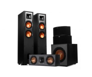 Klipsch R-26FA Reference 5.2.1 Dolby Atmos Surround Speaker System | Integrated Atmos Speaker