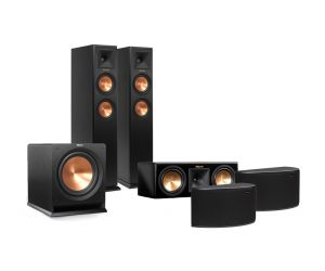 Klipsch RP-250F Floorstanding, RP-250C Centre, R-14S Surround & R-110SW Subwoofer 5.1 Surround Speaker System