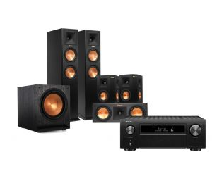 Denon AVC-X6500H 11.2 CH Amplifier & Klipsch 260F Reference Premiere Speakers System