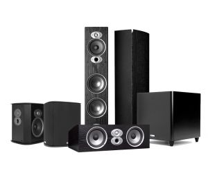 Polk RTi A7 5.1 Channel Home Theater Speaker System