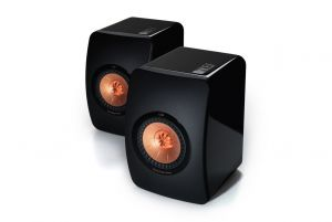 KEF LS50 Premium Concentric Bookshelf Speakers Pair