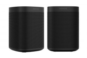 Sonos One Smart Multi-Room Wireless Speakers Pair with Alexa, Google Assistant, AirPlay 2