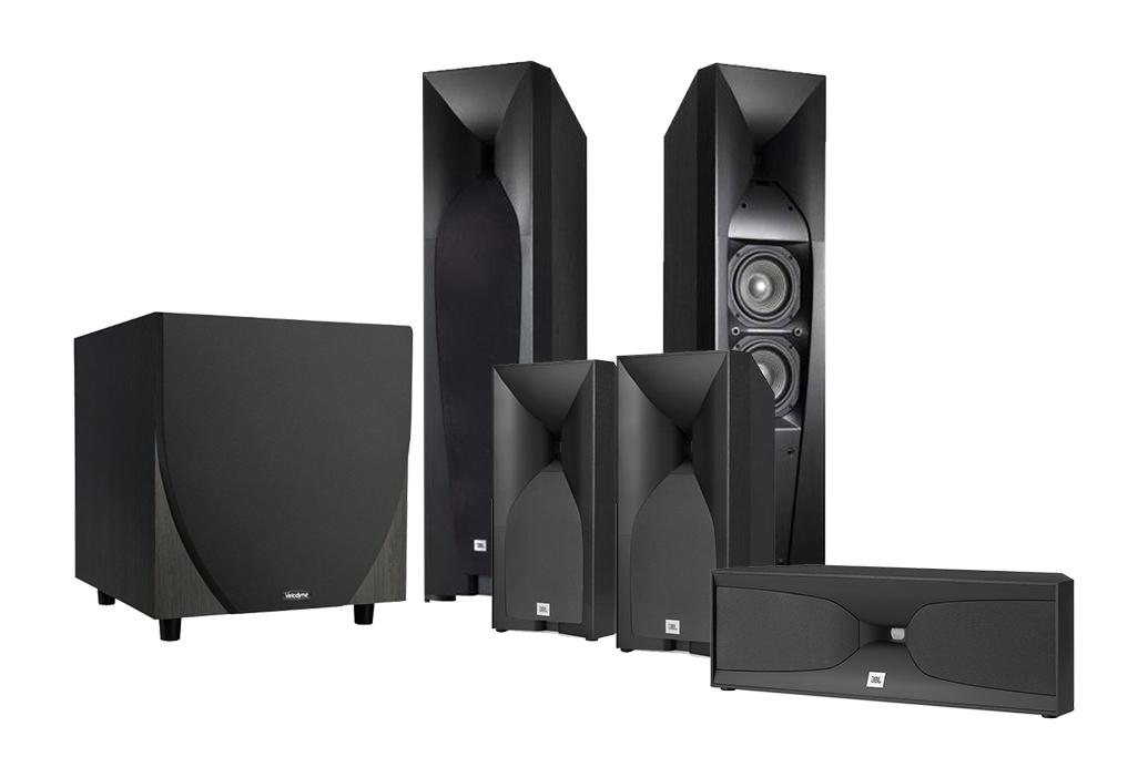 JBL Studio 570 5 1 Surround Speaker System