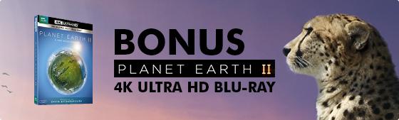 Bonus Planet Earth II Blu-ray Disc