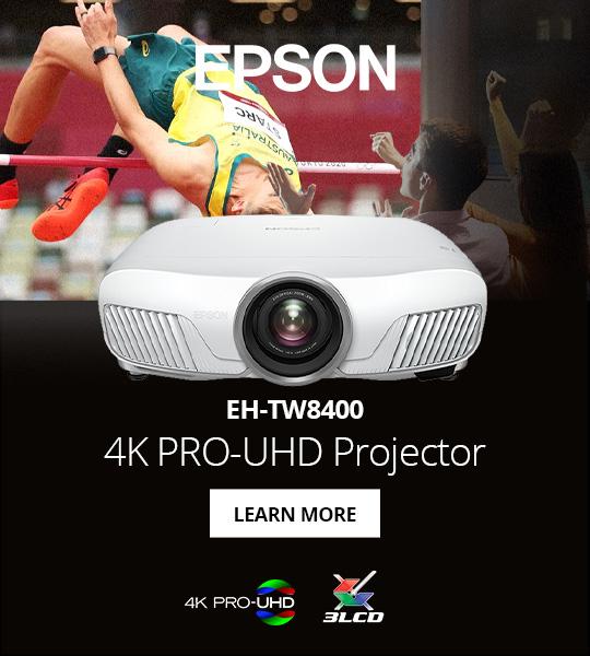 Epson TW8400 at Digital Cinema