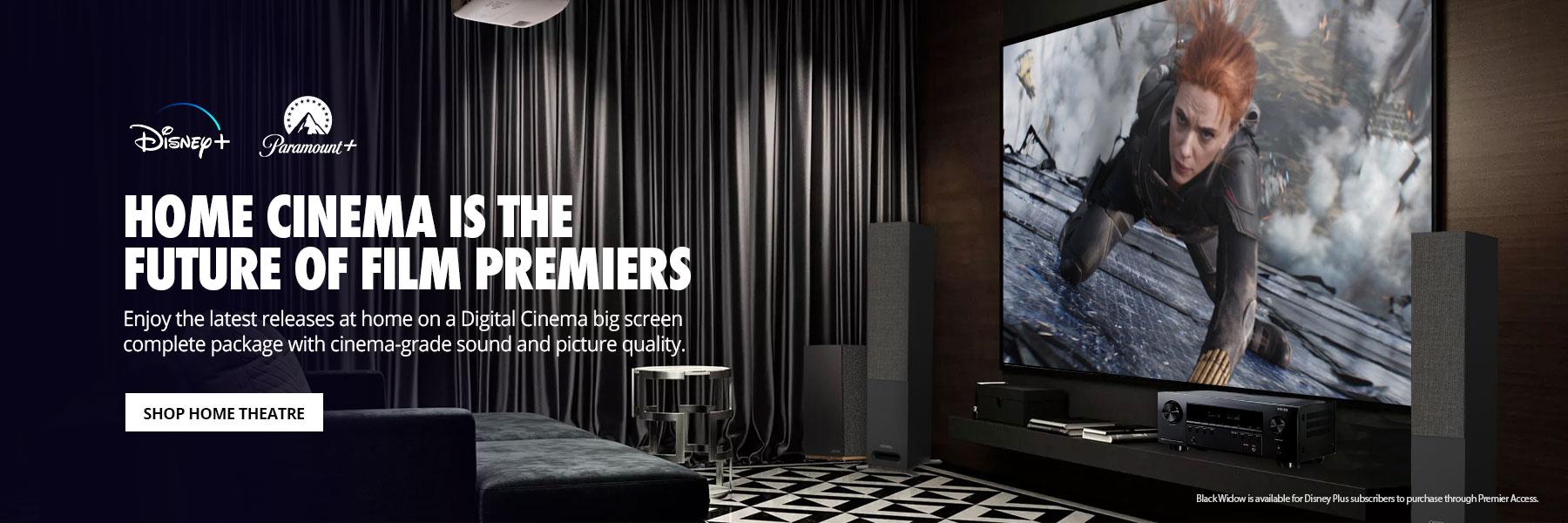Home cinema at Digital Cinema