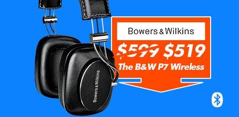 bowers and wilkins P7 headphones